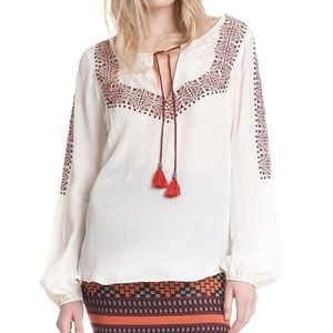 NEW! Plenty by Tracy Reese Embroidered Kurta Ivory